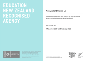 ENZ recognised agency