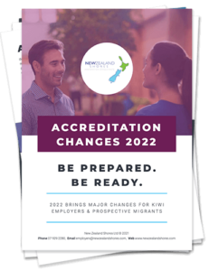 New Zealand Shores Accreditation brochure