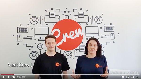 Crew youtube