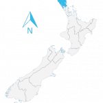 new zealand map northland
