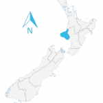 new zealand map taranaki