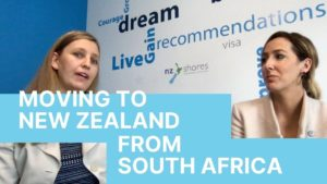 Move to New Zealand from South Africa